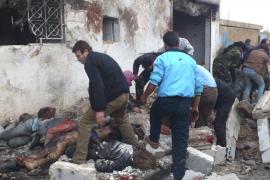 Decenas de víctimas en un bombardeo en una panadería en Siria