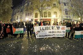 Acto de homenaje en Palma a los presos políticos y desaparecidos saharauis