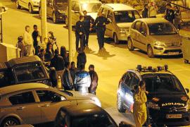 Detenido un ex presidiario acusado de apuñalar a un joven en un bar de Son Roca