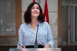 Isabel Díaz Ayuso, presidenta en funciones de la Comunidad de Madrid