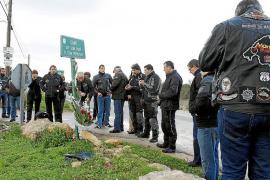 Homenaje a los motoristas fallecidos