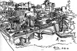 Feliu Renom publica el primer libro de dibujos sobre El Terreno