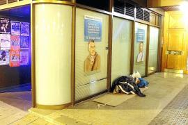La crisis ha duplicado el número de personas que viven en las calles de Palma