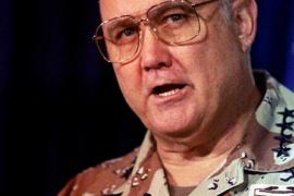 Fallece Norman Schwarzkopf, el comandante de la 'Tormenta del desierto'