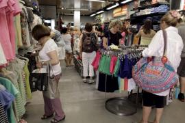 Las ventas del comercio de Mallorca han caído este año 91 millones