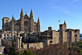 La Seu, catedral de Palma de Mallorca y la Almudaina