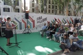 Fira del Llibre en Palma.