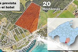 EL PSM RECURRE A LA VIA JUDICIAL PARA BLOQUEAR LA CONSTRUCCION DEL HOTEL DE LUJO EN SA RAPITA .