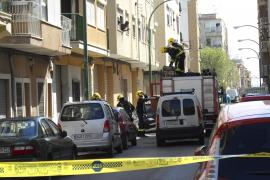 Unos ladrones provocan un escape de gas en un edificio de La Soledad al robar las tuberías