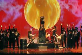 Un momento de la ópera 'Il Trovatore', de Verdi, en el Principal
