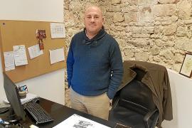 El alcalde de Binissalem, Víctor Martí