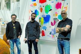 Santiago Picatoste, Alejandro Monge y Samuel Salcedo