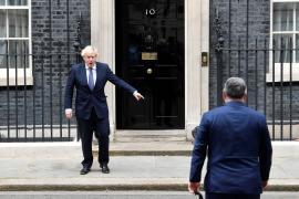 Un informe exime a Johnson por la polémica reforma de Downing Street