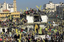 La reconciliación palestina avanza con un acto masivo en Gaza en honor a Al Fatah