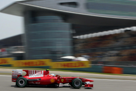 Alonso saldrá tercero por detrás de Vettel y Webber
