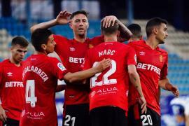 El Mallorca se queda a un gol del título