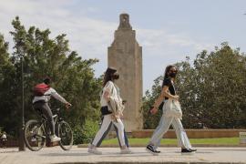 El polémico monumento de sa Feixina, en Palma