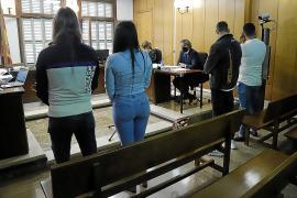 Los cuatro okupas condenados por extorsión y grupo criminal
