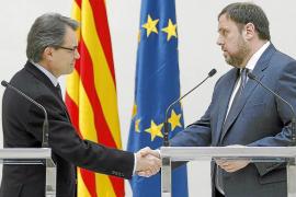 CiU y ERC inician el camino de la ruta soberanista