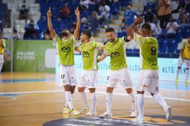 El Palma Futsal da un golpe en la mesa