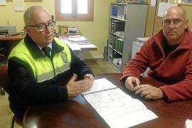 Unas 70 personas se encargarán de la seguridad durante la víspera de Sant Antoni