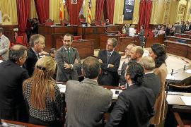 La propuesta del PP para recortar el Parlament nunca se concretó