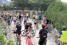'Bicicletada' por un transporte seguro