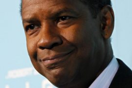 "File photo of actor Denzel Washington at the premiere of ""Flight"" at the ArcLight Cinerama Dome in Los Angeles"