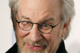 File photo of director and producer Steven Spielberg arriving at the 23rd annual Producers Guild Awards in Beverly Hills