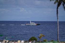 El robot marino utilizado en la búsqueda de las niñas de Tenerife localiza una botella de oxígeno y una sábana