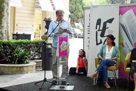 Presentación en la Fira del Llibre de Palma del último libro de Ramon Mayol