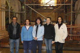 La iglesia de Sant Salvador recupera todo su esplendor tras la restauración