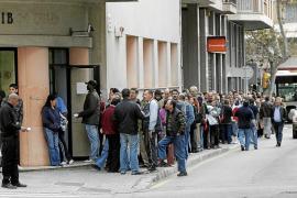 Más de 70.000 desempleados de Balears no cobran ningún tipo de prestación económica