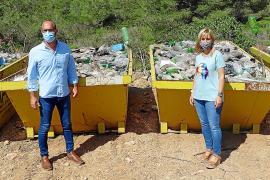 El Ajuntament de Felanitx retira 20 toneladas de residuos del vertedero ilegal de Ca n'Alou