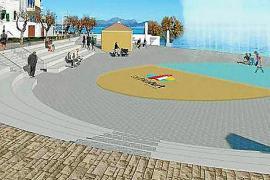 La oposición de santa Margalida no quiere una plaza sobre la piscina del Mar y Paz de Can Picafort