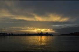 Anochece en Port Adriano