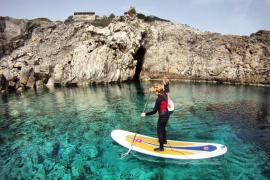 Palma promocionará el paddel surf para atraer  turistas de Reino Unido, Alemania, Italia y Holanda