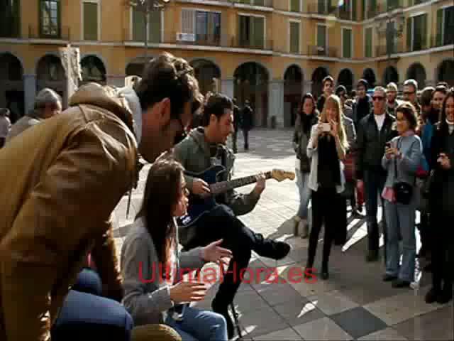 La Voz en las calles de Palma