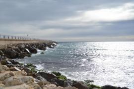 Pasarela al mar