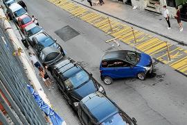 Dos conductores bajo los efectos del alcohol provocan accidentes en Vila
