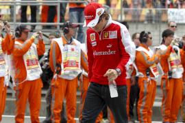 Alonso : «No puedo estar  contento, llevo tres carreras sin subir al podio»