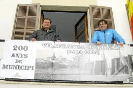 Vilafranca inicia los actos para festejar los 200 años de independencia