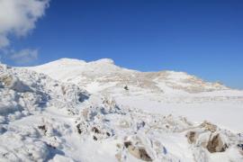 Puig de Massanella con nieve