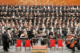 PALMA. MUSICA. REQUIEM DE VERDI DE LA ORQUESTRA SIMFONICA CON EL CORO CIUTAT DE EIVISSA.