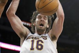 Un doble-doble de Gasol pone con ventaja  a los Lakers tras doblegar (87-79) a los Thunders