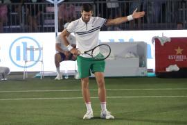 Novak Djokovic en el Mallorca Championships.