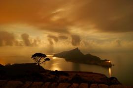 Isla Dragonera de noche