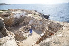 Okupación de las cuevas de Son Verí