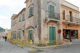 La Policía precinta una casa en Andratx por riesgo de derrumbe