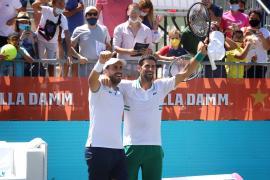 Djokovic-Gómez Herrera y Bolelli-González, finalistas en el Mallorca Championships